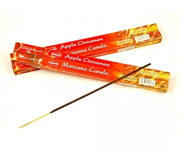 APPLE CINNAMON INCENSE STICKS