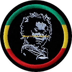 RASTA BABY EMBROIDERED PATCH