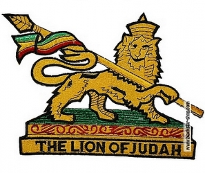 LION OF JUDAH EMBROIDERED PATCH