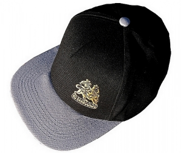 LION OF JUDAH RASTA CAP GREY