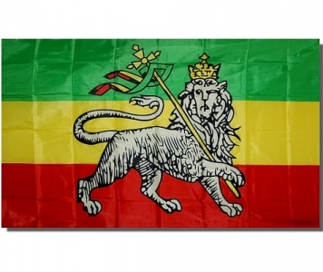 DRAPEAU RASTA LION OF JUDAH