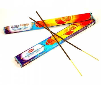 VANILLA ORANGE INCENSE STICKS