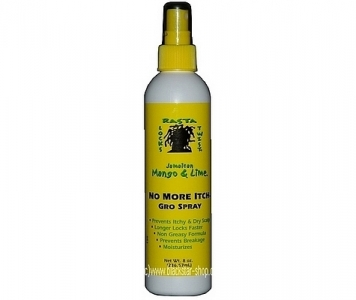 JAMAICAN & MANGO LIME NO MORE ITCH GRO SPRAY