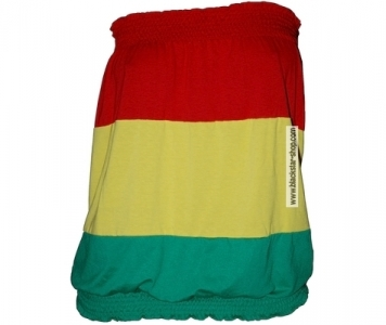 Rasta woman strapless - RGG