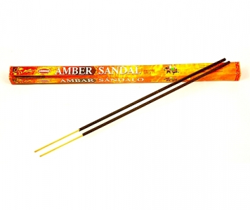 AMBER SANDAL INCENSE STICKS