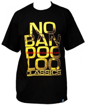 Tee-shirt STREET GOLD - BLACK