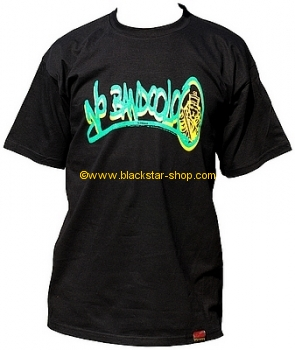 Rasta tee DOUBLE TAGGED YARDIE - GOLD