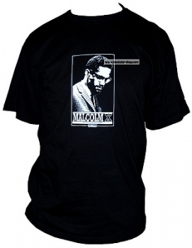 Conscious t-shirt MALCOLM X