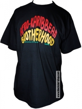 Tee-shirt rasta AFRO-KARIBBEAN BROTHERHOOD