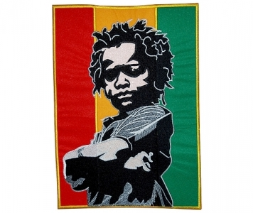 RASTA BABY XL EMBROIDERED PATCH