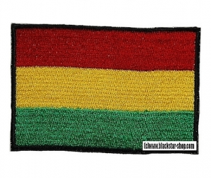 RASTA FLAG EMBROIDERED PATCH