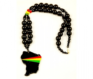 FRENCH GUYANA RASTA NECKLACE