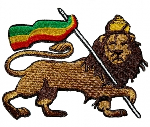 LION OF JUDAH EMBROIDERED PATCH 2