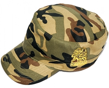 LION OF JUDAH RASTA ARMY CAP
